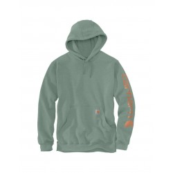 K288 SLEEVE LOGO HOODED...