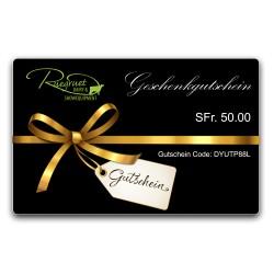 Geschenkgutschein von Ruegruet Shop
