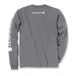 Carhartt Logo Long Sleeve T-Shirt
