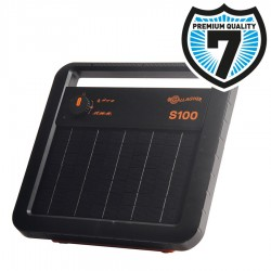 Gallagher S100 Solar-Weidezaungerät inklusive Batterie (12V 7,2Ah)